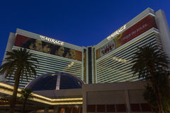 The Mirage Hotel Entrance in Las Vegas, NV on June 05, 2013 Royalty Free Stock Photo