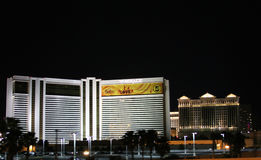 Mirage Hotel Las Vegas. The Mirage Hotel in Las Vegas Nevada Stock Photos