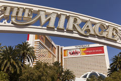 The Mirage Hotel in Las Vegas, NV on April 27, 2013 Stock Photo