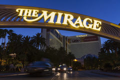 The Mirage Hotel in Las Vegas, NV on June 05, 2013 Stock Images