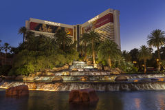 The Mirage Hotel in Las Vegas, NV on May 29, 2013 Stock Photos