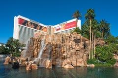 The Mirage hotel in Las Vegas Strip Stock Image