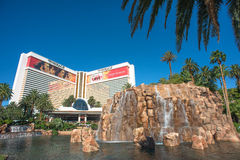 The Mirage hotel in Las Vegas Strip Royalty Free Stock Photo
