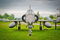 Mirage 5 - jet plane Royalty Free Stock Photo