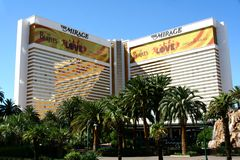 The Mirage - Las Vegas Stock Photos