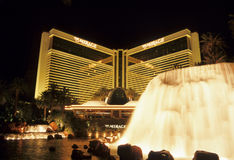 Mirage Resort Fountain Stock Photos