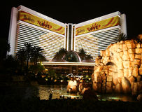 The Mirage on the Strip Royalty Free Stock Image