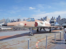 Miragem 5 de Dassault do israelita Fotografia de Stock Royalty Free