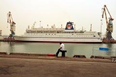MIRAGEM do navio de cruzeiros mim fotografia de stock