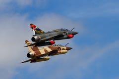 Miragem francesa 2000D da força aérea do Disp tático do delta da fatuidade Foto de Stock