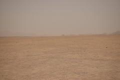 Miragem no deserto Imagem de Stock Royalty Free