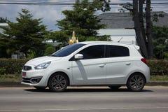 Miragem privada de Mitsubishi do carro de Eco Imagens de Stock