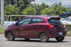 Miragem privada de Mitsubishi do carro de Eco Foto de Stock