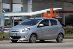 Miragem privada de Mitsubishi do carro de Eco Fotos de Stock