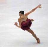 Mirai Nagasu dos EUA, figura estrela da patinagem fotos de stock