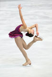 Mirai NAGASU (USA) short program Royalty Free Stock Photo