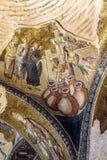 Mirakel av Cana, vatten in i vin arkivfoton