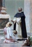 Mirakel av St Dominic arkivfoto