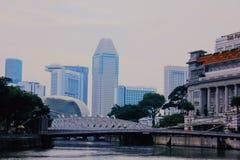 Mirakel van Singapore stock foto