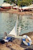 Mirakelfartyg Arkivbild