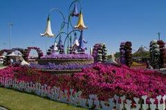Mirakelträdgård, Dubai Royaltyfri Foto