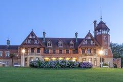 Miramar παλάτι στο San Sebastian, Ισπανία Στοκ φωτογραφίες με δικαίωμα ελεύθερης χρήσης