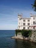Miramar castle Royalty Free Stock Photo
