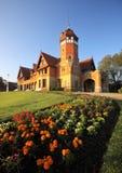 Miramar Palace, Donostia, Gipuzkoa. Park and Miramar Palace, Donostia, Gipuzkoa royalty free stock photography