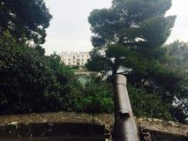 Miramare城堡 免版税库存图片