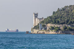 Miramare, Ιταλία Στοκ φωτογραφία με δικαίωμα ελεύθερης χρήσης