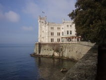 Miramare. Palace in Triest, Italy Royalty Free Stock Photo