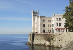 Miramare Castle Royalty Free Stock Photos