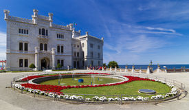 Miramare Castle στοκ φωτογραφία