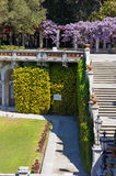 Miramare Castle`s Park and Garden in Trieste Stock Images
