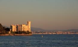 Miramare castle, Trieste Royalty Free Stock Photos