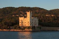 Miramare castle, Trieste Stock Photography