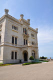 Miramare castle, Trieste, Italy Royalty Free Stock Image