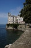 Miramare Castle - Trieste, Italy Royalty Free Stock Image