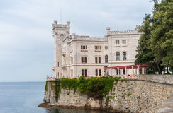 Miramare castle, Trieste, Italy. Stock Images