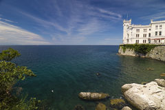 Miramare Castle, Trieste, Italy Royalty Free Stock Photos
