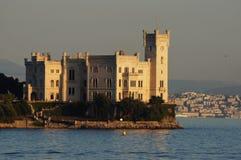 Miramare kasztel - Trieste, Włochy Zdjęcie Stock