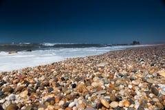 Miramare plaża, Portugalia zdjęcie royalty free