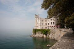 Miramare Schloss Stockbilder