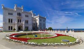 Miramare Schloss Stockfotografie
