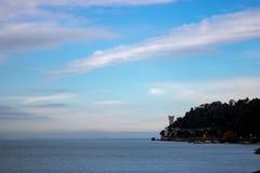 Miramare-Schloss, Italien stockfoto