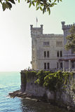 Miramare Schloss, Triest, Italien Stockbild