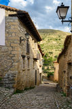 Mirambel, the province of Teruel, Aragon, Spain. Royalty Free Stock Images