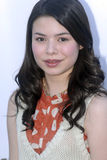 Miranda Cosgrove on the red carpet. Royalty Free Stock Image