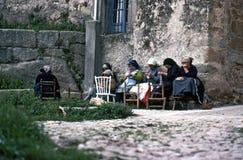 MIRANDA DEL CASTAÃAR, â il giugno 1980 della SPAGNA Fotografie Stock Libere da Diritti