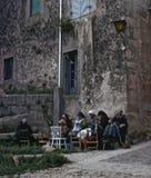 MIRANDA DEL CASTAÑAR, SPAIN – JUNE, 1980 Royalty Free Stock Photos